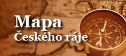 Mapa Českého ráje
